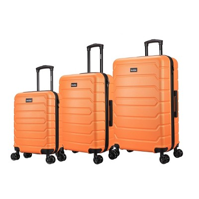 InUSA Trend Lightweight Hardside Spinner 3pc Luggage Set