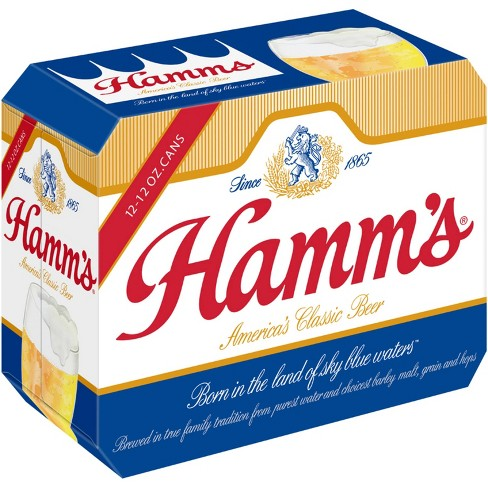 Hamm's Premium Beer - 12pk/12 fl oz Cans - image 1 of 3