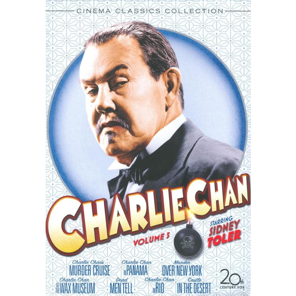 Charlie Chan Vol 5 (Dvd), Movies