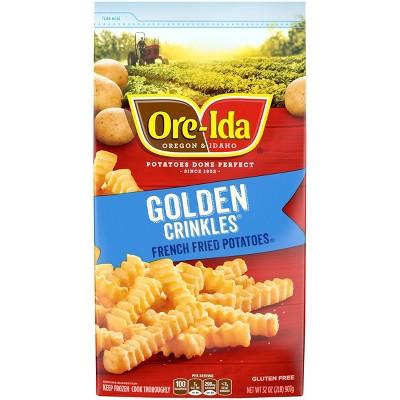 Ore-Ida Golden Crinkles Frozen French Fries - 32oz