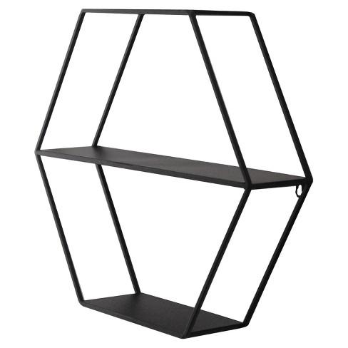 Hexagon Shelf Black Project 62 Target