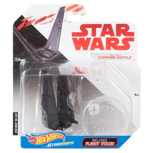 Hot Wheels Star Wars: The Last Jedi -Kylo Ren's Command Shuttle Starship Vehicle - image 1 of 3