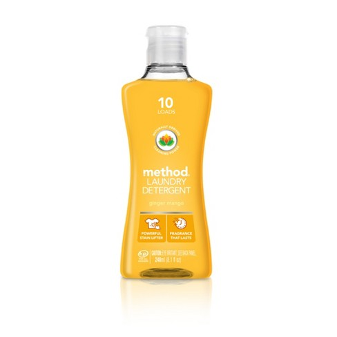 Method 4x Laundry Detergent Ginger Mango 10ld - image 1 of 2