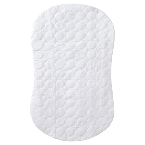 HALO Bassinest Swivel Sleeper Waterproof Mattress Pad – Quilted White - image 1 of 3