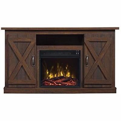 Comfort Smart Killian Media Console & 18-in Firebox