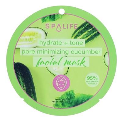 SpaLife Pore Reducing Face Mask Cucumber - 0.81oz