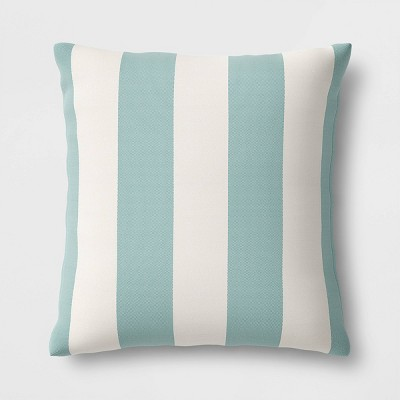 Cabana Stripe Outdoor Throw Pillow DuraSeason Fabric™ - Threshold™