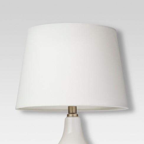 3b03e22ff40 Linen Lamp Shade Shell - Threshold™   Target