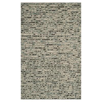 Gray/Multi Stripes Loomed Area Rug - (8'X10')- Safavieh®