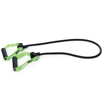 Escape Fitness Lightweight Multi Function Elastic Power 02 Tubes for Conditioning, Flexibility, and Cardio, Green