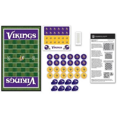 NFL Minnesota Vikings Checkers Board Game