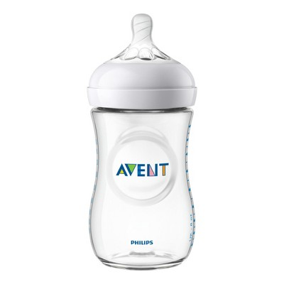 Philips Avent Natural Baby Bottle 9oz - Clear