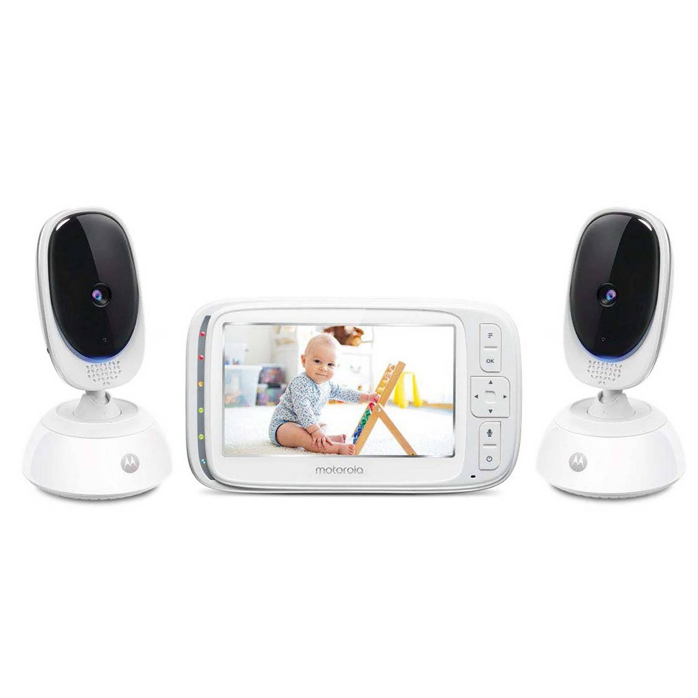 "Image of ""Motorola 5"""" Baby Digital Video Monitor With 2 Cameras"""