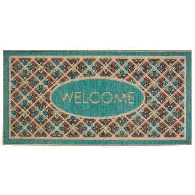 2'x4' Ornamental Entry Mat Retro Tiles - Mohawk