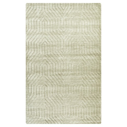 Rizzy Home Technique Collection Hand Loomed 100 Wool Area Rug