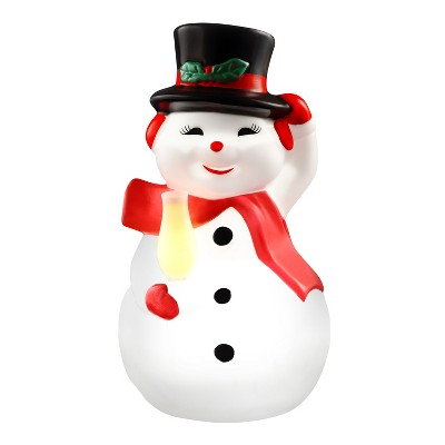 "Mr. Christmas Outdoor LED Christmas Decoration Retro Snowman - 24"""