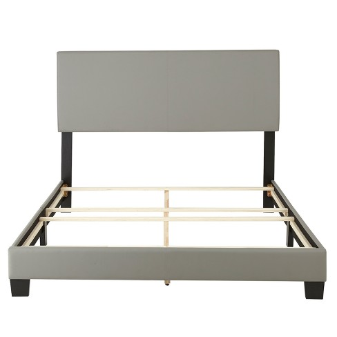 Langley Leather Upholstered Platform Bed Frame - Eco Dream - image 1 of 3