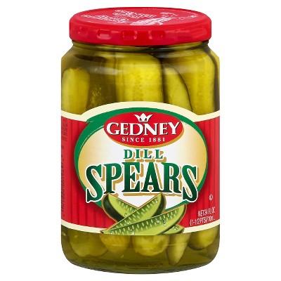 Gedney Pickles Dill Spears - 24 fl oz