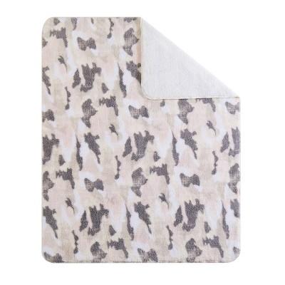 "50""x70"" Camo Printed Sherpa Throw Blanket in Gift Box - Sean John"
