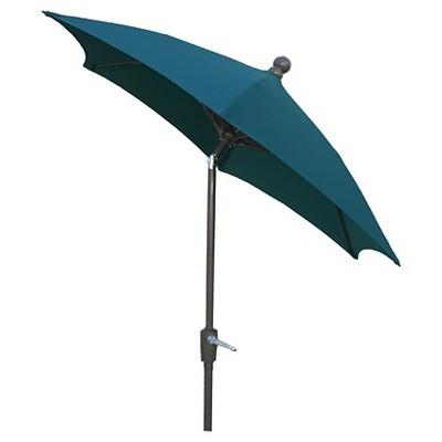 FiberBuilt 7.5u0027 Patio Umbrella FiberBuilt Pacific Blue : Target