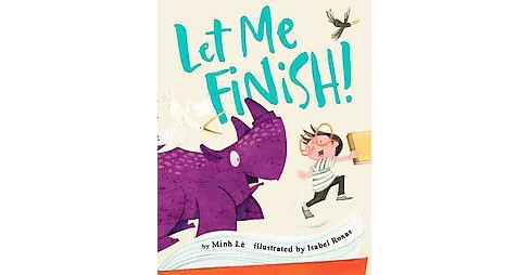 Let Me Finish! (School And Library) (Minh Lu00ea) - image 1 of 1