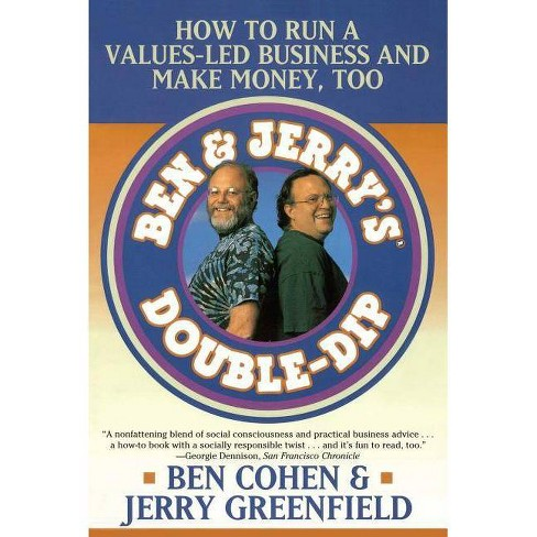 Ben Jerry's Double Dip - by  Jerry Greenfield & Ben Cohen (Paperback) - image 1 of 1
