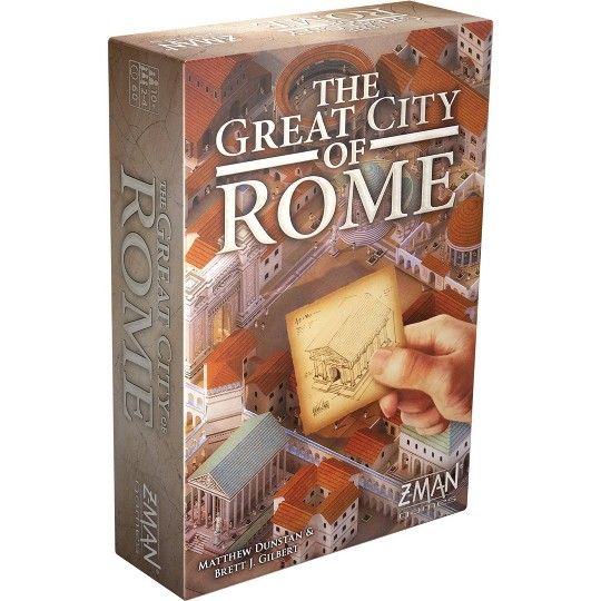 Zman The Great City of Rome Board Game image number null