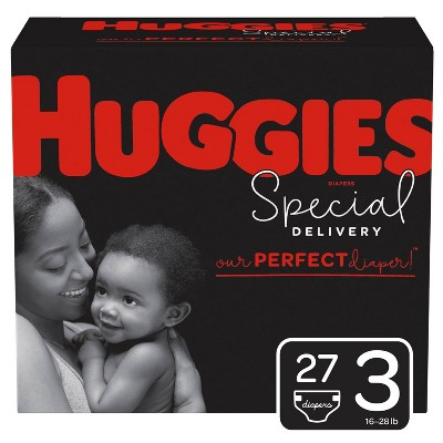 Huggies Special Delivery Disposable Diapers Jumbo Pack - Size 3 (27ct)