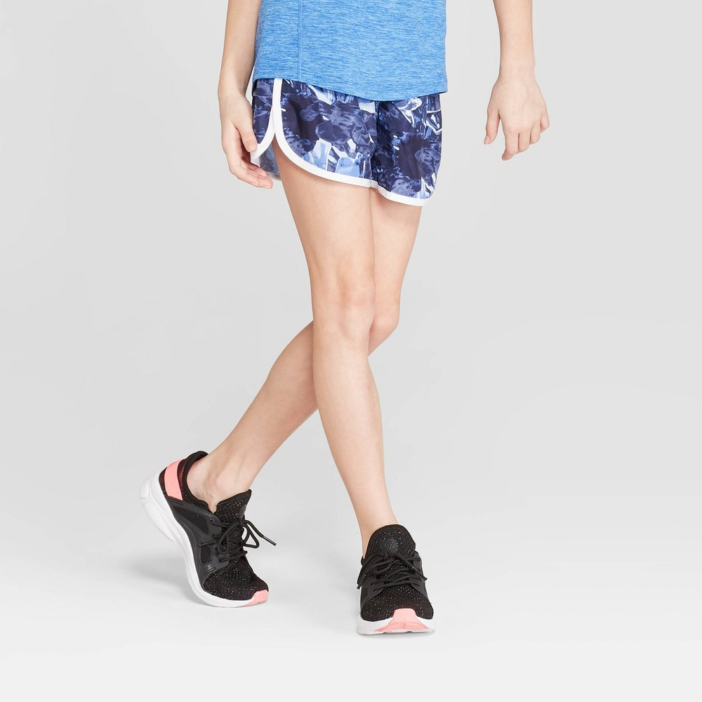 Girls' Run Shorts - C9 Champion Navy (Blue) S
