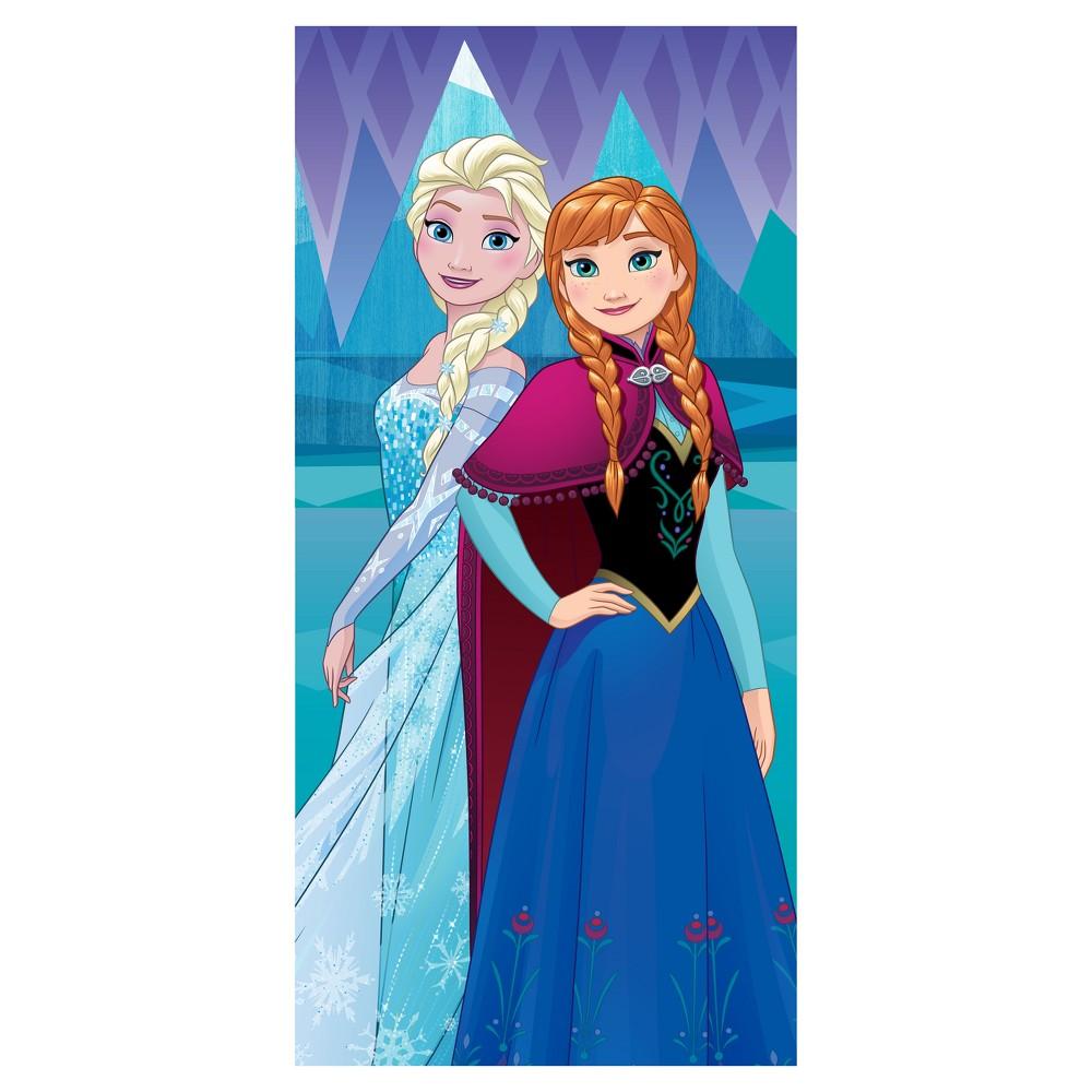 Frozen Beach Towel Blue - Disney