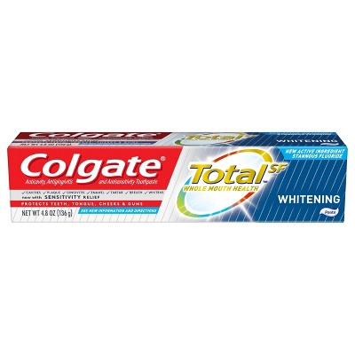Toothpaste: Colgate Total Whitening