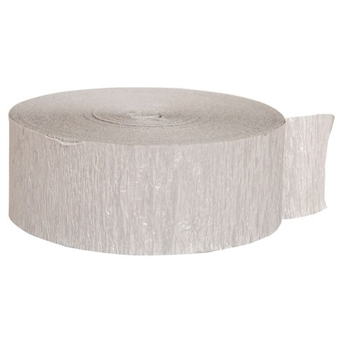 Silver Crepe Streamer - Spritz™ - image 1 of 2