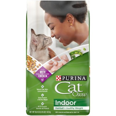 Purina Cat Chow Indoor with Chicken Adult Complete & Balanced Dry Cat Food