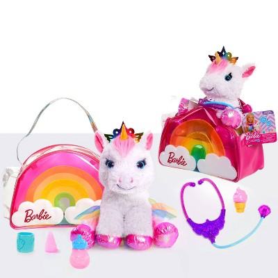 Barbie Unicorn Pet Doctor Stuffed Animal