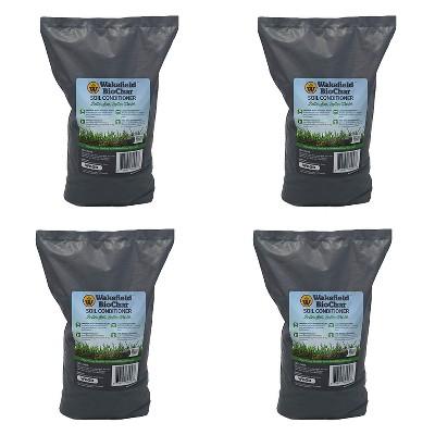 Wakefield 1lb Pound Premium Biochar Organic Garden Soil Conditioner (4 Pack)