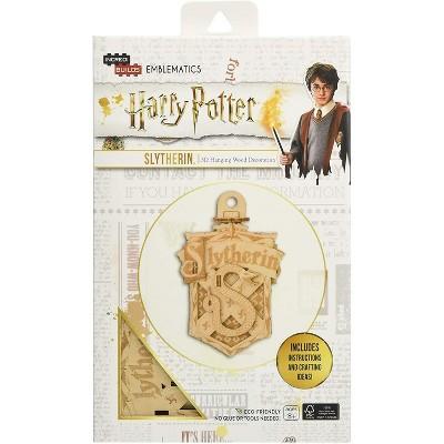 Incredibuilds Harry Potter Slytherin Emblematics Wood Model Kit