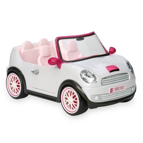 Lori Dolls Go Everywhere! Convertible Car for 6-inch Mini Dolls - Silver - image 1 of 4