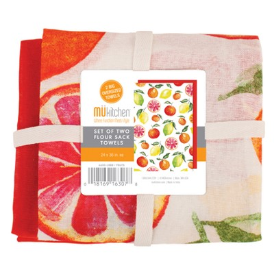 2pk Fruits Kitchen Towel - MU Kitchen