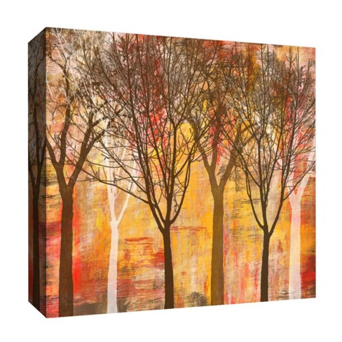 """Afternoon Trees Decorative Canvas Wall Art 16""""x16"""" - PTM Images - image 1 of 1"""