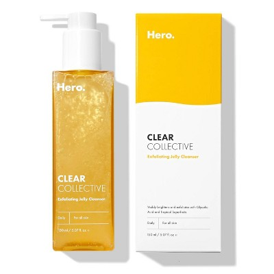 Hero Cosmetics Clear Collective Exfoliating Jelly Cleanser - 150ml