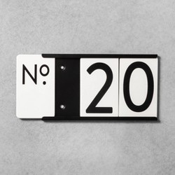 House Number Mounting Plate - Hearth & Hand™ with Magnolia