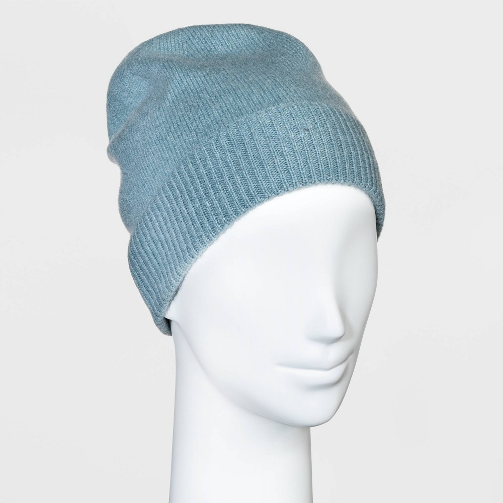 Promos Women' Cahmere Beanie - A New Day™ Blue
