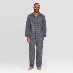 Men's Plaid Woven Pajama Set - Goodfellow & Co™ Xavier Navy