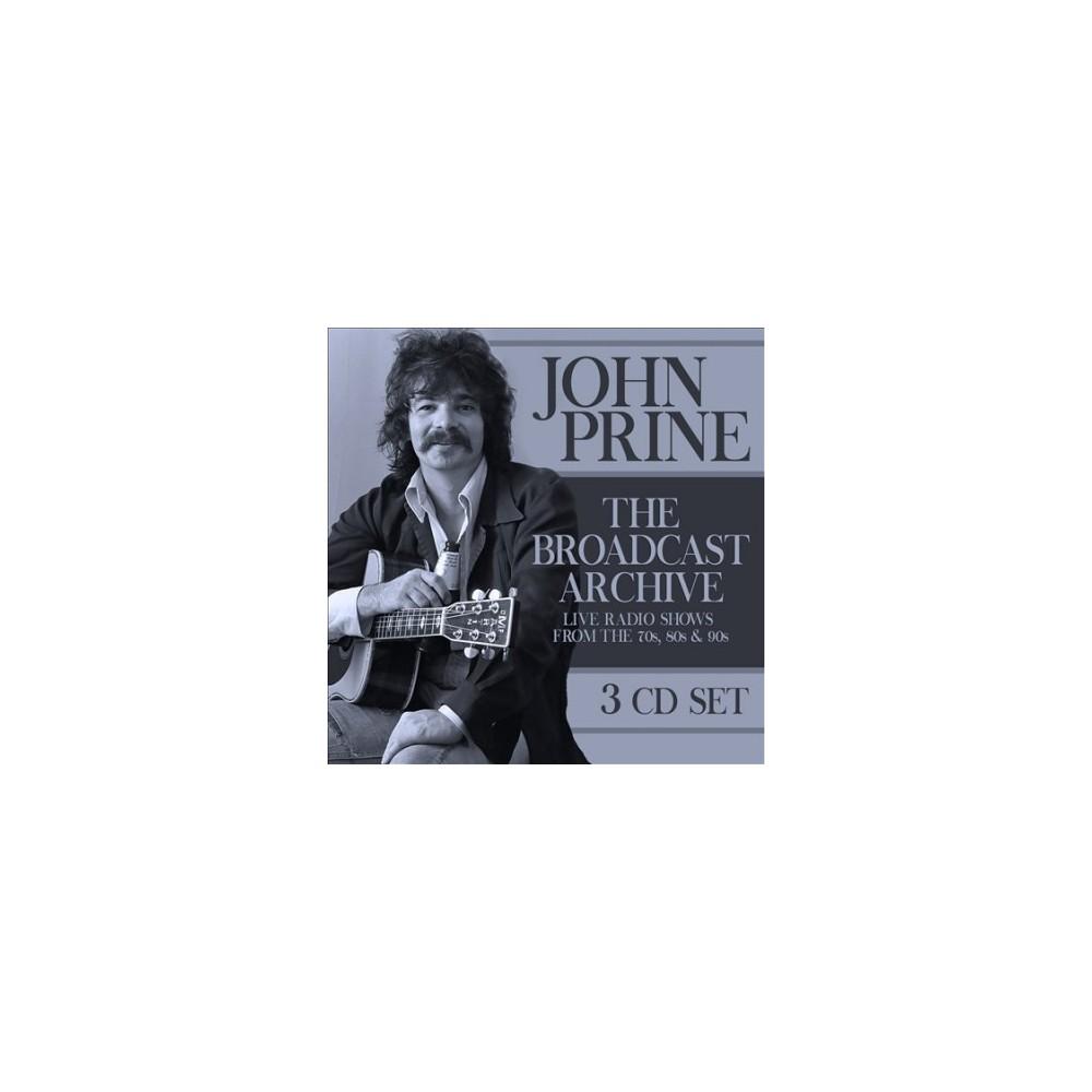 John Prine - Broadcast Archive (CD)