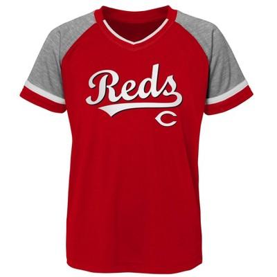 MLB Cincinnati Reds Boys' Pullover Jersey