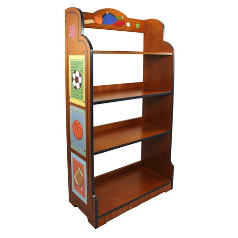 Fantasy Fields Lil Sports Fan Bookshelf