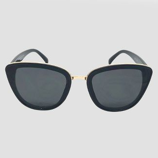 a7fb35ebb57 Womens Cateye Sunglasses – A New Day™ Black – Target Inventory ...