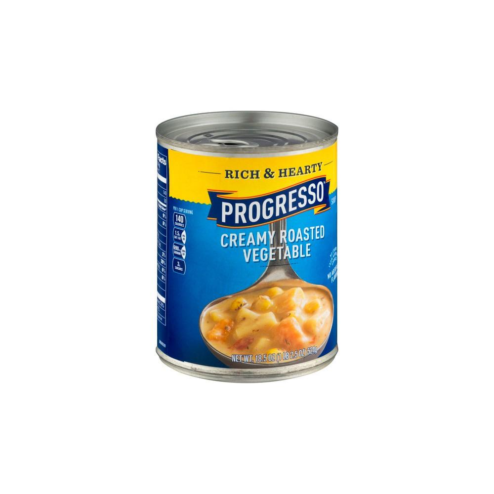 Progresso Rich & Hearty Creamy Roasted Vegetable Soup 18.5 oz