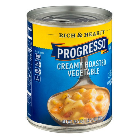 Progresso® Rich & Hearty Creamy Roasted Vegetable Soup 18.5 oz - image 1 of 3