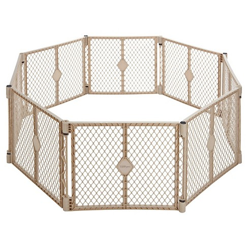 Toddleroo By North States Superyard Indoor Outdoor 8 Panel Freestanding Gate - image 1 of 4